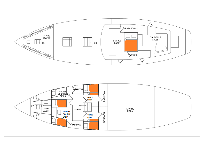 Carpe Diem Deck Plan