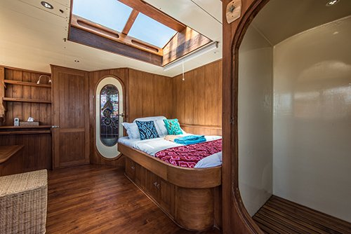 Traditional Schooner Cabin